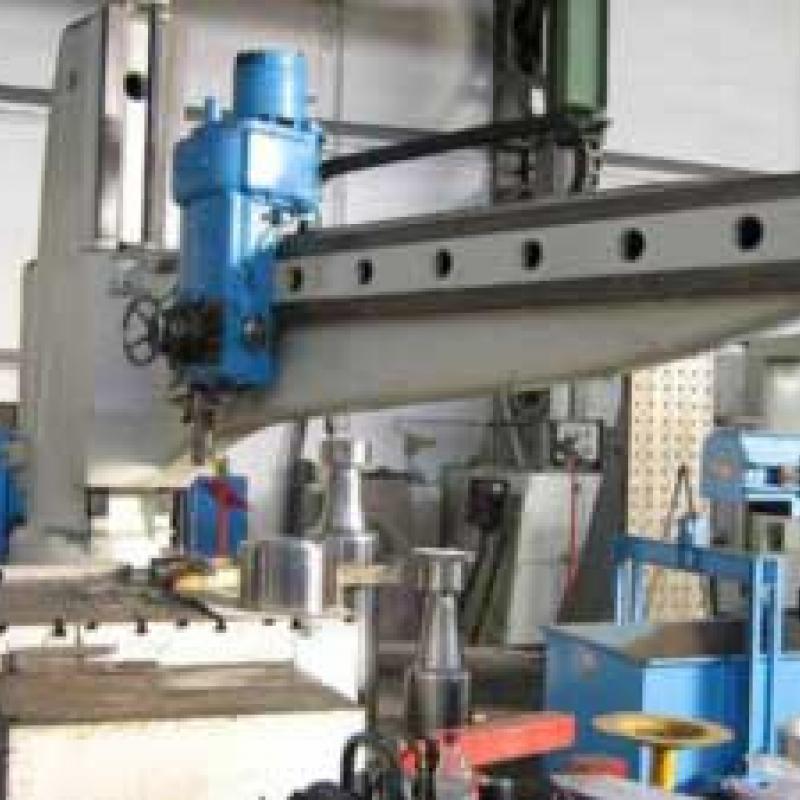 Radial drilling machine MAS » PRESSTEC